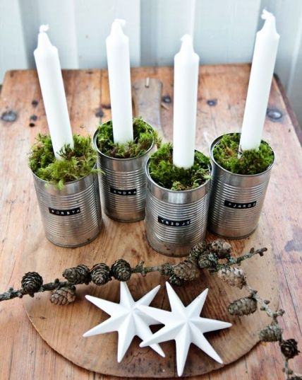 69beb7351631fe2aa28c44a3789bc181--diy-advent-wreath-tin-cans